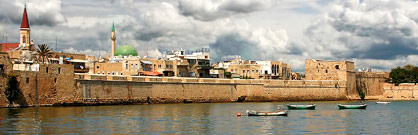 Old port of Acre (Akko)