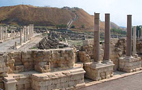 Ruins at Beit She'an, Israel