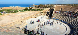 Roman Theater at Caesarea  © IMOT