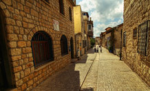 Street in old Safed