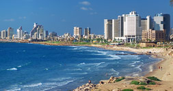 Tel Aviv and the Mediterranean