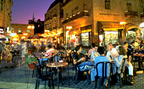 Zion Square, new city of Jerusalem © IMOT