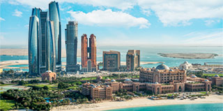 ihad Towers & Emirates Palace Hotel, Abu Dhabi