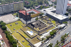 Aerial view of Tlatelolco