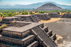 Teotihuuacan pyramids