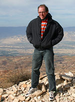 Pastor Brad McCoy at the Jordan Valley