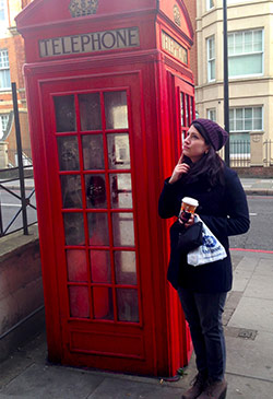 Liz in London