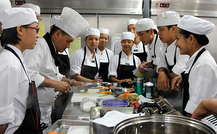 KOTO kitchen trainees