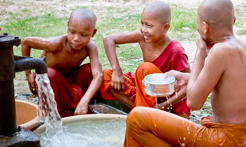 One of Trailblazer's wells in Cambodia