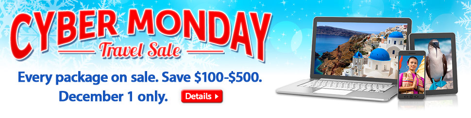 Cyber Monday Travel Sale: save up to $500
