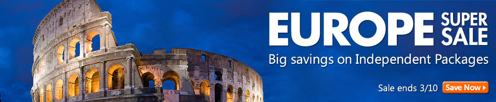 Europe Super Sale: Big savings on Independent Packages