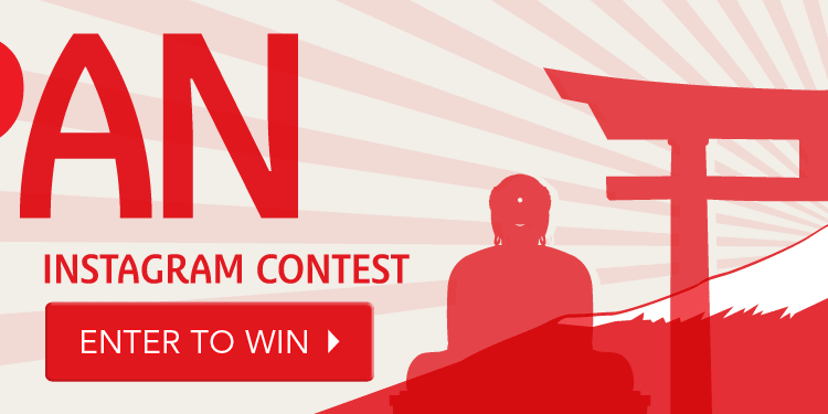 Japan Instagram Contest: enter to win