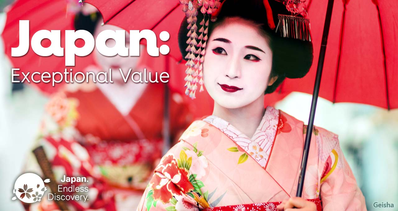 Japan: exceptional value