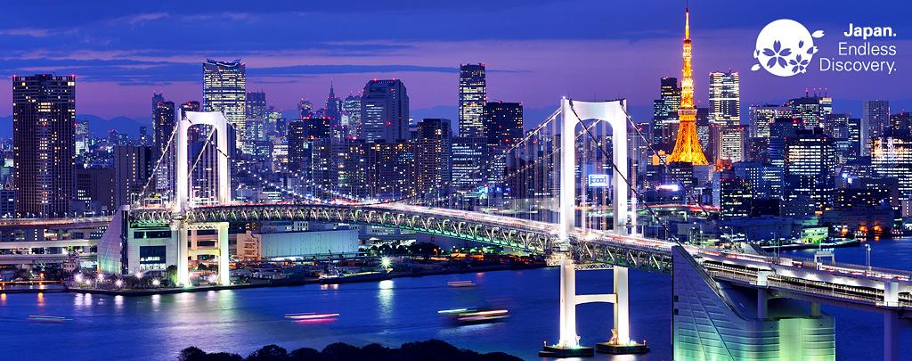 The Tokyo Tower & Rainbow Bridge