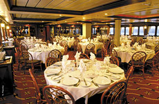 The Via Australis dining room