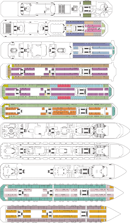 Costa Concordia deck plans (click to drag)