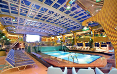 Costa Concordia indoor pool