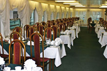 Dining Aboard the MS Kronstadt