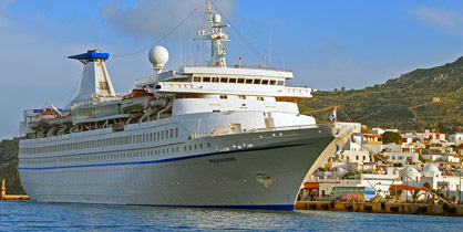 Louis Cruise Lines Aquamarine in Patmos