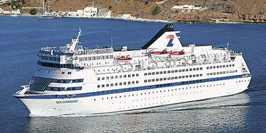 Louis Cruise Lines MS Sea Diamond