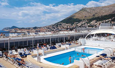 MSC Armonia Deck & Pool