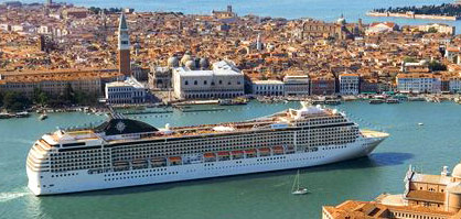MSC <i>Musica</i> in Venice  &copy; MSC Cruises