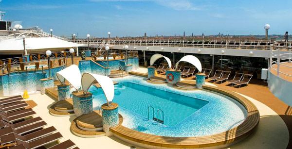 Boat Swim Decks Musica Swimming Pool Deck