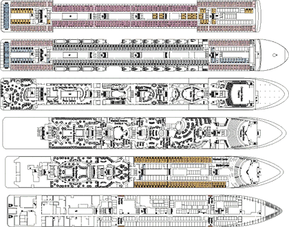 MSC Orchestra Deck Plans