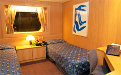 Sinfonia oceanview stateroom