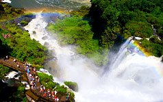 Iguazu Falls rainbow  Photo by Dr. Robert Nguyen