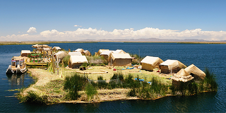 Floating Uros Island