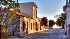Calle San Pedro, Colonia del Sacramento  Photo by Herbert Brant